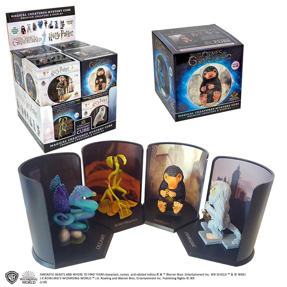 Mystery Cube - Magical Creatures 8pc CDU