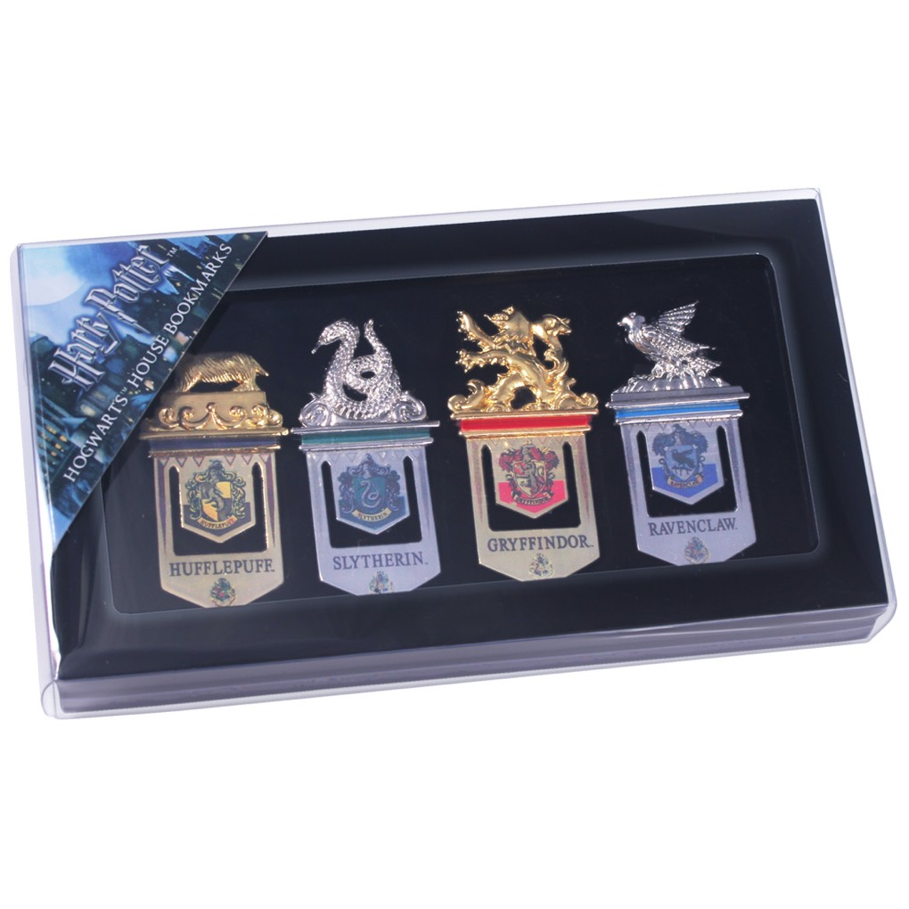 Hogwarts Bookmarks (clear pack) (4)