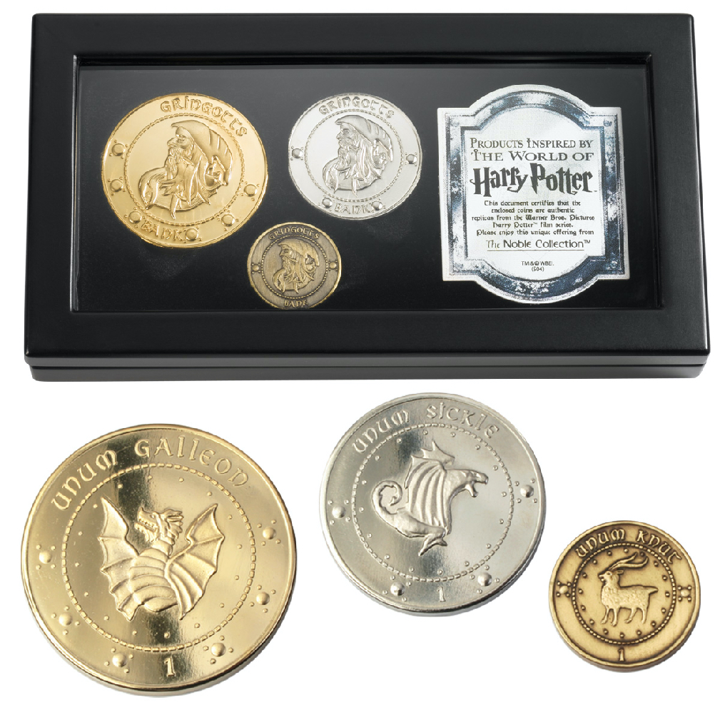 The Gringotts Coin Collection (3)
