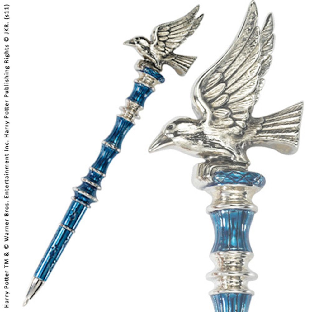 Ravenclaw Pen Silver Plated (3)