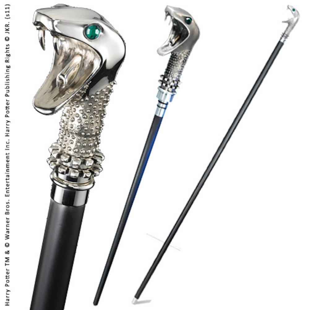 Lucius Malfoy Cane with Wand (2)