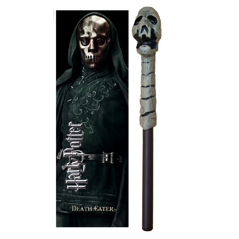 Death Eater (Skull) Wand Pen and Bookmark (10)