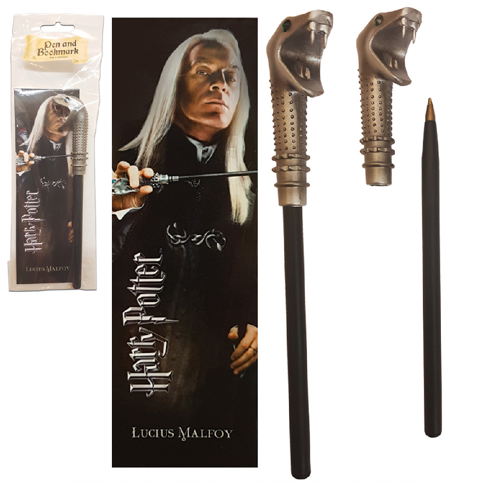 Lucius Malfoy Wand Pen and Bookmark (10)
