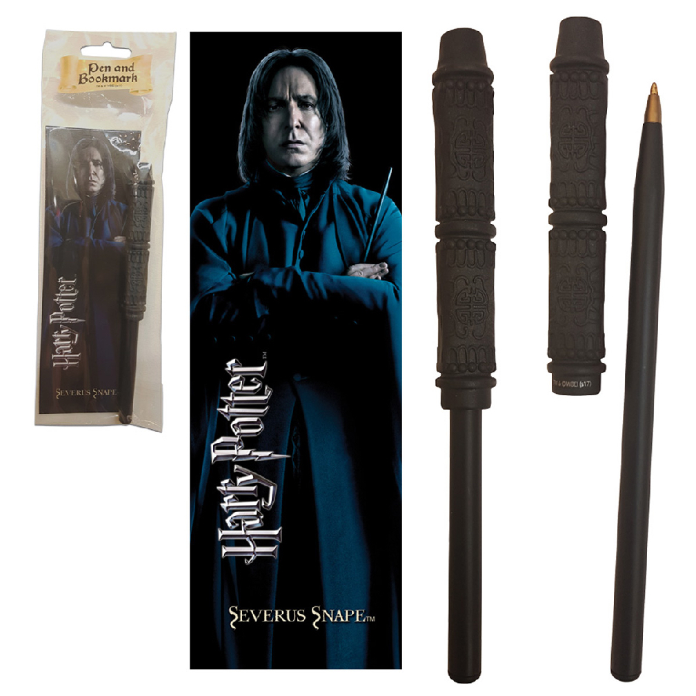 Snape Wand Pen and Bookmark (10)