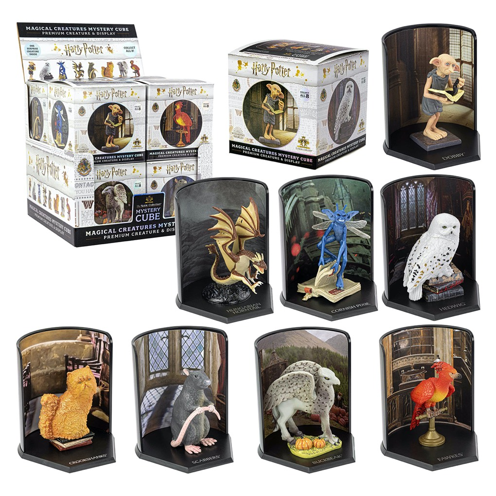 Magical Creatures Mystery Cube 8pc CDU