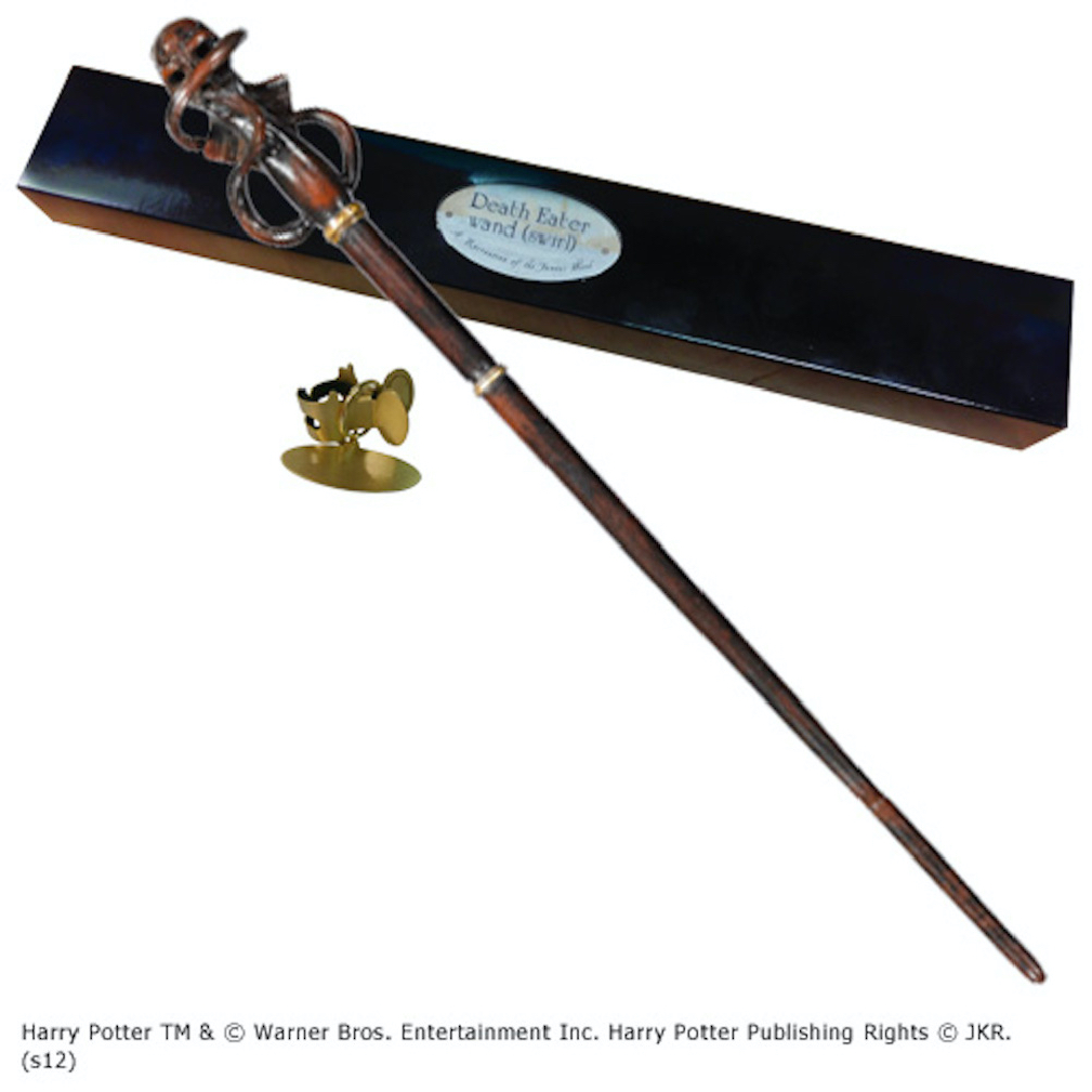 Death Eater Character Wand (swirl) (4)